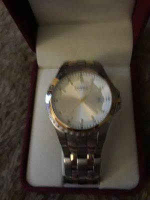 Mens Fossil Stainless Steel Two Tone Watch for Sale in Frederick, MD