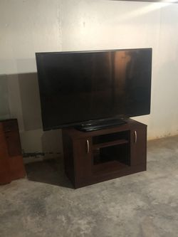 """Sharp Aquos 60"""" TV with TV Stand"""