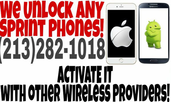We UNLOCK Phones! Sprint AT&T T-Mobile MetroPCS for Sale in Los Angeles, CA  - OfferUp