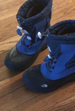 Boy NorthFace Boots Size3 Thumbnail
