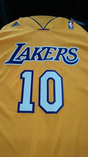 the best attitude 27d00 f881d New and Used Lakers jersey for Sale in Kirkland, WA - OfferUp