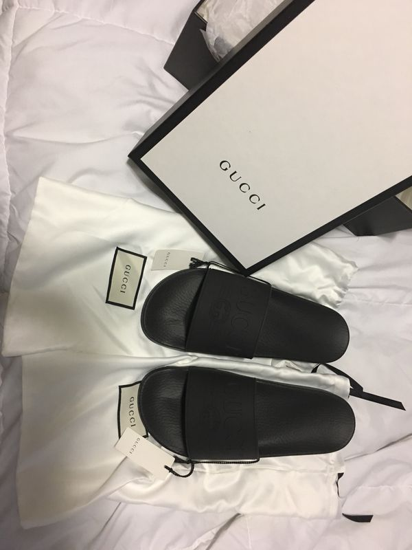 aceb7c910694 Black Gucci slides for Sale in Las Vegas