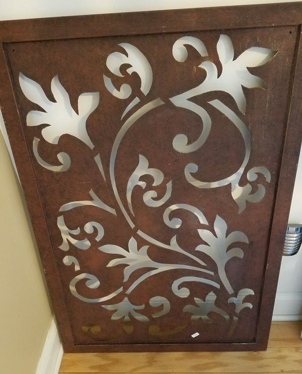 Ballard designs cutout metal wall art home garden in castle hayne nc offerup