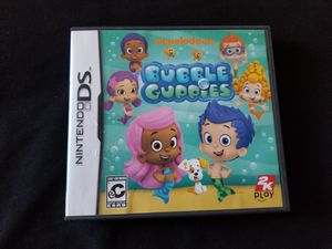 Bubble guppies nintendo DS kids game for Sale in National City, CA