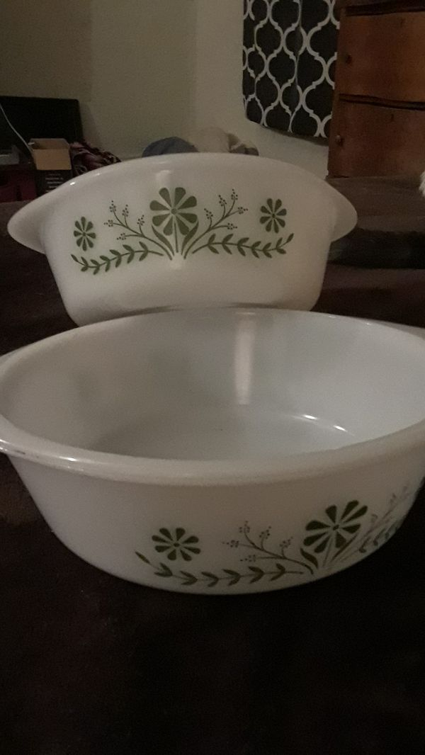 Vintage Glasbake Bowls for Sale in Troy, NY - OfferUp