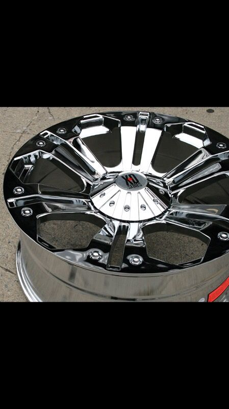 Xd monster wheels 24 inch for Sale in El Paso, TX - OfferUp
