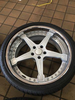 "Forgiato 20"" wheels 5x112 Mercedes Audi for Sale in Laurel, MD"