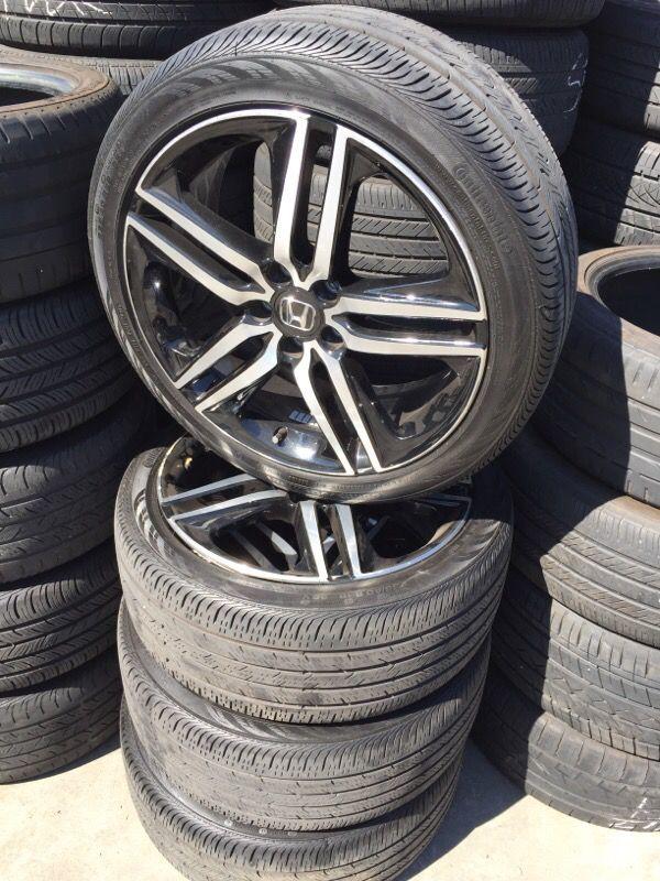 2016 Honda Accord Sport Wheels Oem For In San Lorenzo Ca Offerup