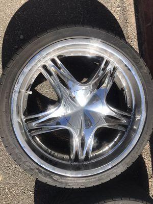 """Photo Chevy Trailblazer wheels 22"""""""