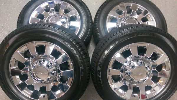 20 Quot Denali 2500 Wheels And Tires Chrome For Sale In