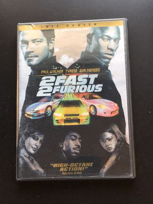 2 Fast 2 Furious DVD Movie for Sale in Leesburg, VA