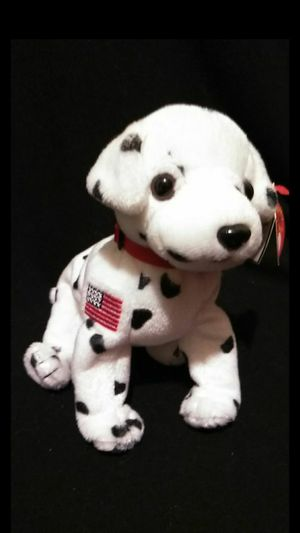 Mint Condition Retired 2001 Ty Beanie Babies Rescue FDNY The Dalmatian September 11th Commemorative With Swing Tags for Sale in Gresham, OR