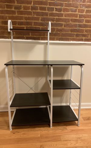 Black multi-tiered organizational shelf for Sale in undefined