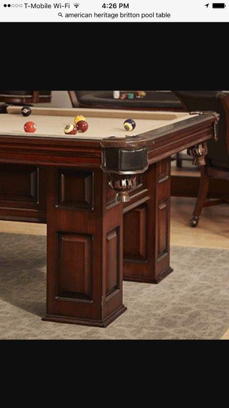American Heritage Britton Pool Table For Sale In Winter Garden FL - American heritage britton pool table