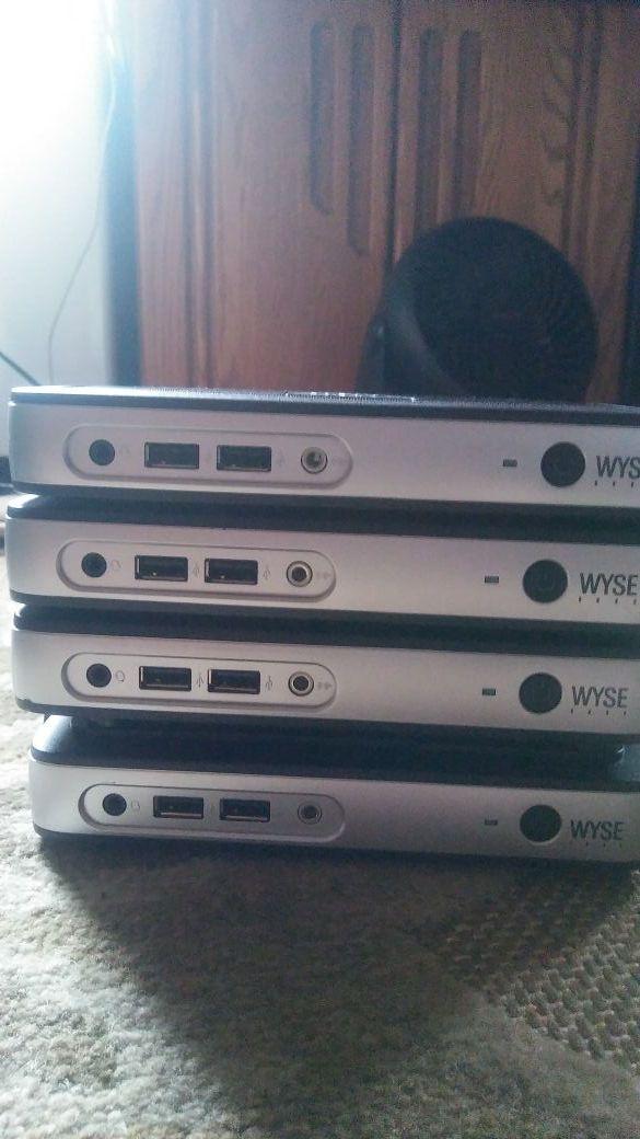 Dell Wyse 909569-01L P25 Mini Desktops, 512 MB RAM, 32 MB Flash,  Black/Silver for Sale in Long Beach, CA - OfferUp