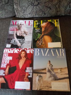 4 fashion beauty magazines for Sale in Madison Heights, VA
