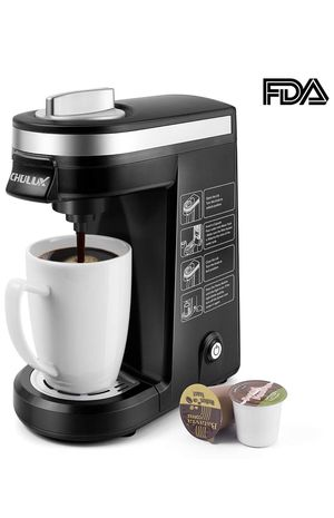 CHULUX Single Serve Coffee Maker Brewer for Single Cup Capsule with 12 OZ Water Tank(Black) for Sale in Chicago, IL