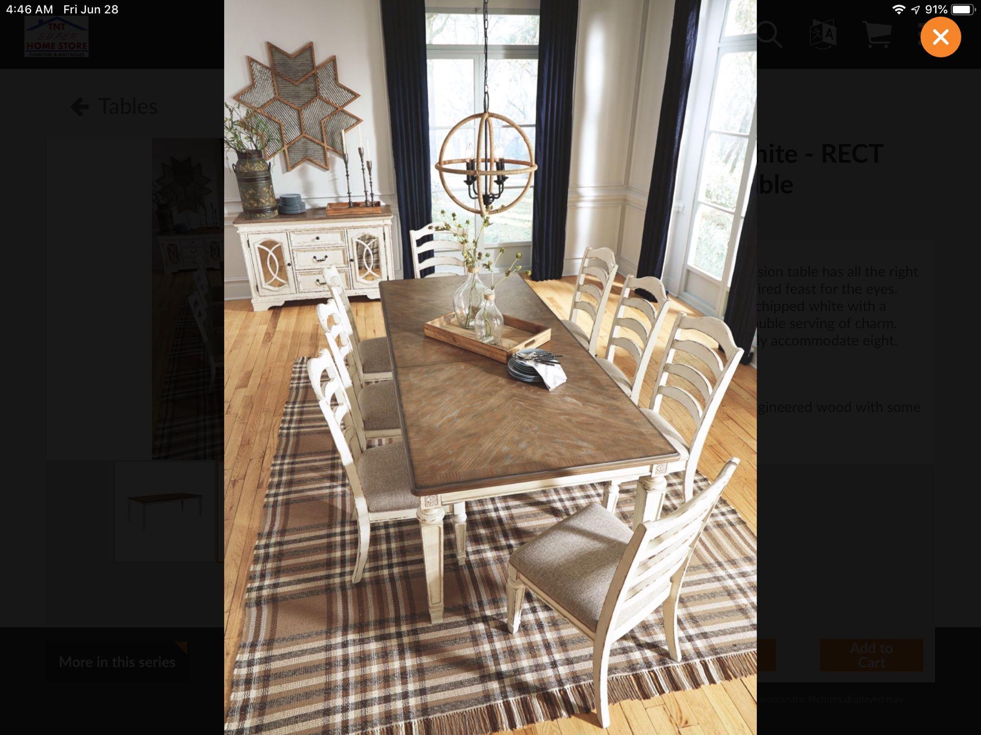 New Dinette Set Ashley Furniture
