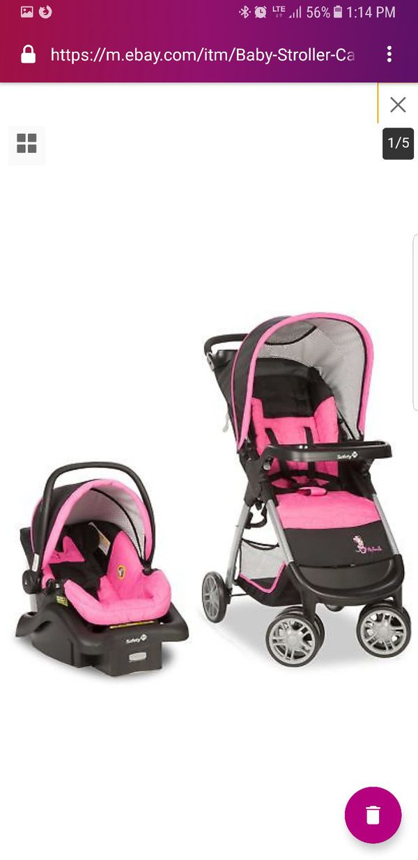 Saftey 1st Minnie Mouse Infant Car Seat Stroller Not Included For Sale