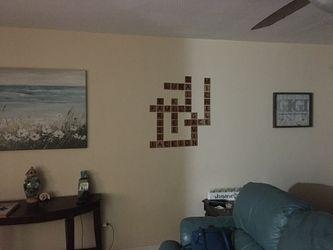 Scrabble wall art decor Thumbnail