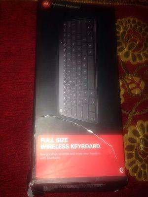 Motorola Wireless Keyboard for Sale in Henrico, VA