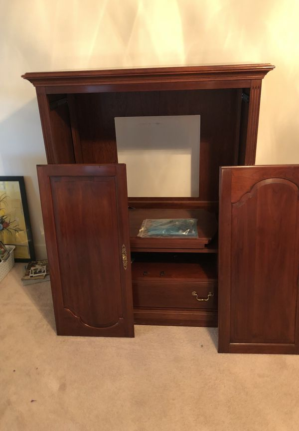 Ethan Allen Entertainment Cabinet Cabinets Decorating Ideas
