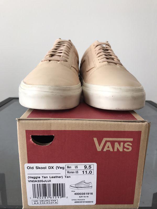 dc1c4db12e10 Vans Old Skool DX Vachetta Tan mens size 9.5 for Sale in San Francisco