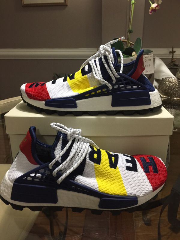 290467c11 Adidas Pharrell Williams BBC Human Race NMD Size 8 for Sale in ...
