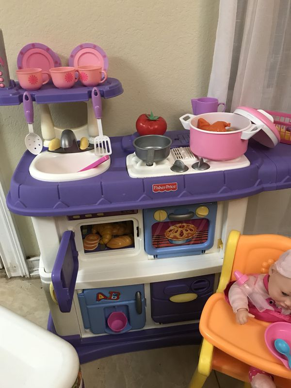 Fisher price kitchen for Sale in Albuquerque, NM - OfferUp