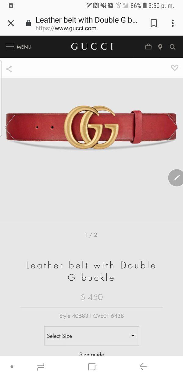 d7e28e6547b Black Gucci belt for Sale in Downey
