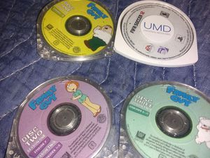 Psp games Family Guy 1-3& soccer for Sale in Forest Heights, MD