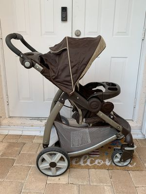 Photo Graco baby stroller. Works perfect. Make an offer