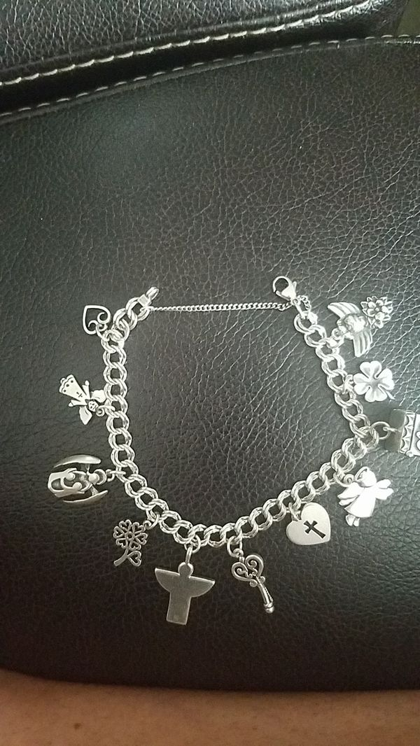 4a1265d4c James Avery charm bracelet sterling silver with 11 sterling silver James  Avery charms. Dallas ...