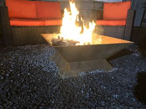 Modern heavy duty fire pit for Sale in Austin, TX