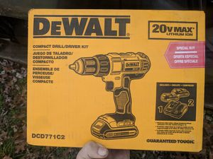 DeWalt 20V drill for Sale in Nashville, TN