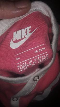 Baby Girl Nike Onsie Thumbnail