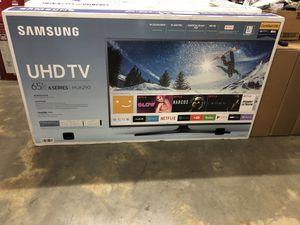 "Samsung UN65MU6290 65"" 4K UHD HDR LED Smart TV 2160p *FREE DELIVERY* for Sale in Renton, WA"
