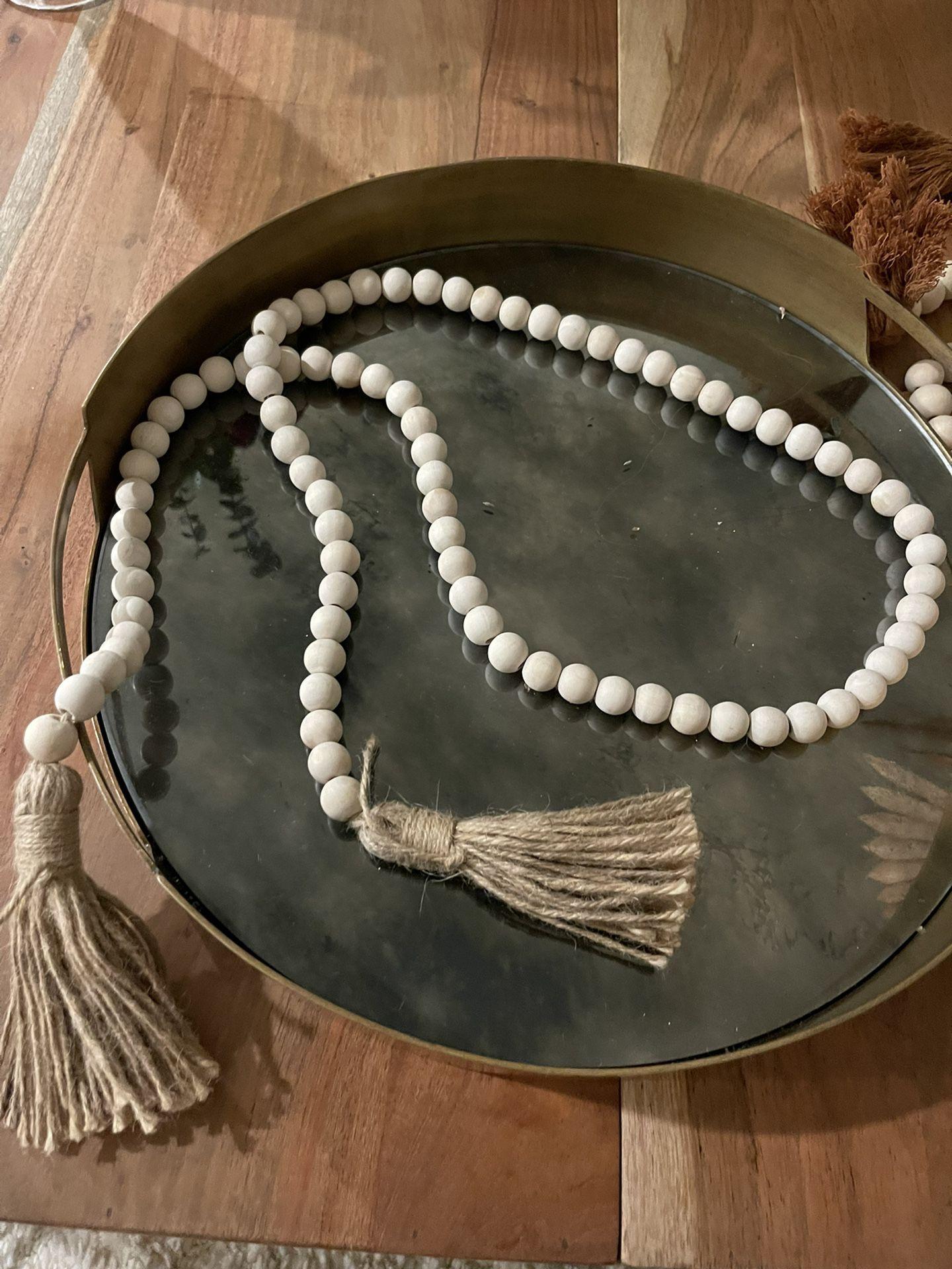 Handmade Bohemian Wooden beads
