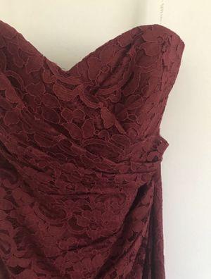 Burgundy bridesmaid dress for Sale in Scottsdale, AZ