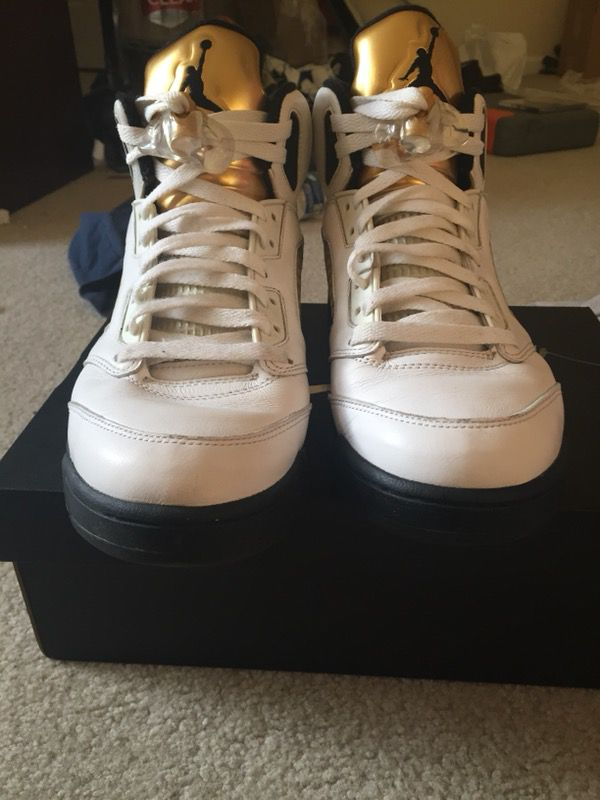 cb1667df74 Jordan 5 Olympic gold Sz 9 for Sale in Raleigh, NC - OfferUp
