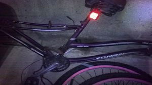 3b84fe118e3 Schwinn clear Creek bike with pink rims and tires used bit maintained good  condition for Sale