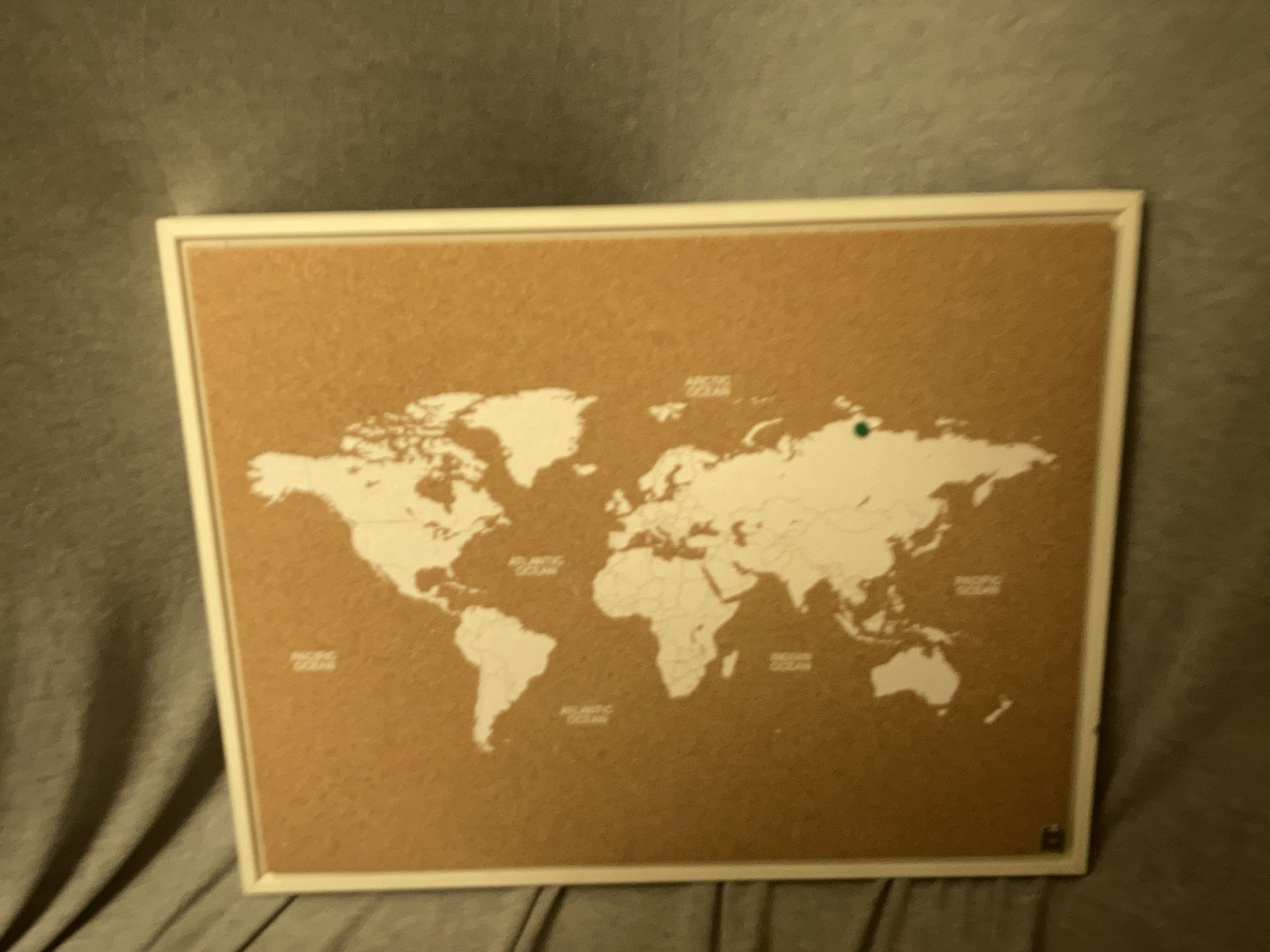 Cork World Map Oh The Places You'll Go