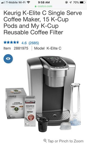 Keurig K Elite Coffee Maker For Sale In Manchester Ct Offerup