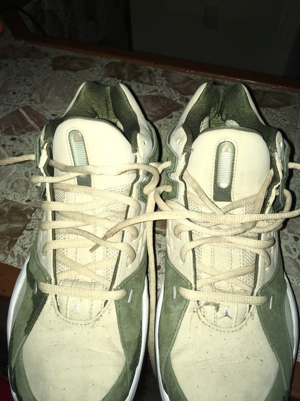 b679977c53a4eb Nike Air Jordan MEN S SU TRAINER Army Olive 314317-311 SIZE 10 AIR JORDAN