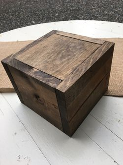 Custom Built Wood Boxes for wedding or event  Thumbnail