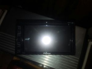 Pioneer double din touchscreen tv with bluetooth for Sale in OH, US