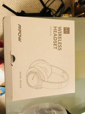 Mpow H7 Bluetooth headphones for Sale in Adelphi, MD