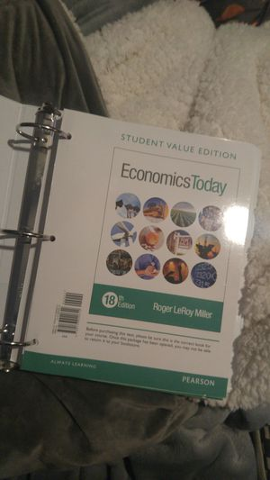 Economics today 18th edition for Sale in Seattle, WA