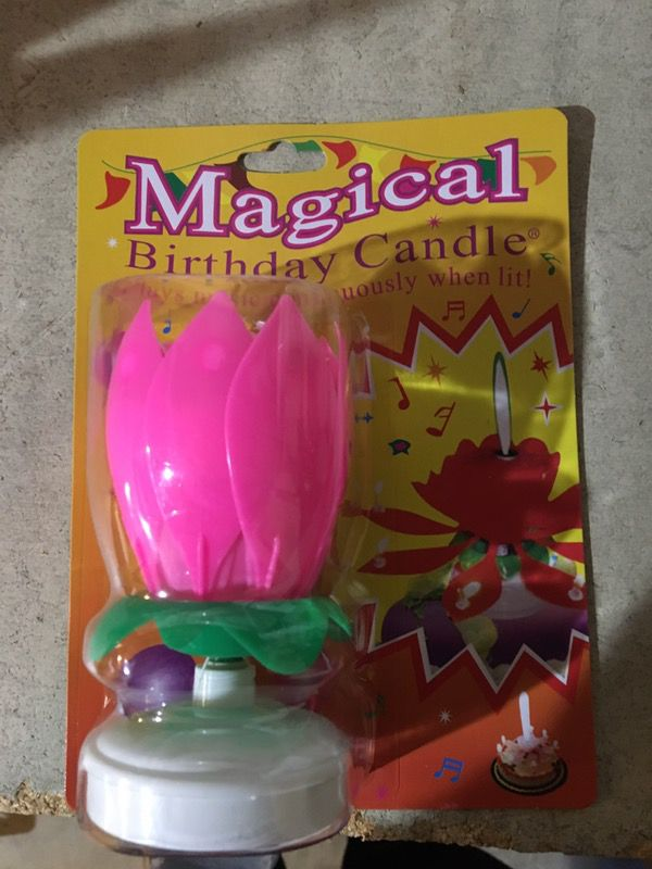 Magic Birthday Candle For Sale In Los Angeles CA