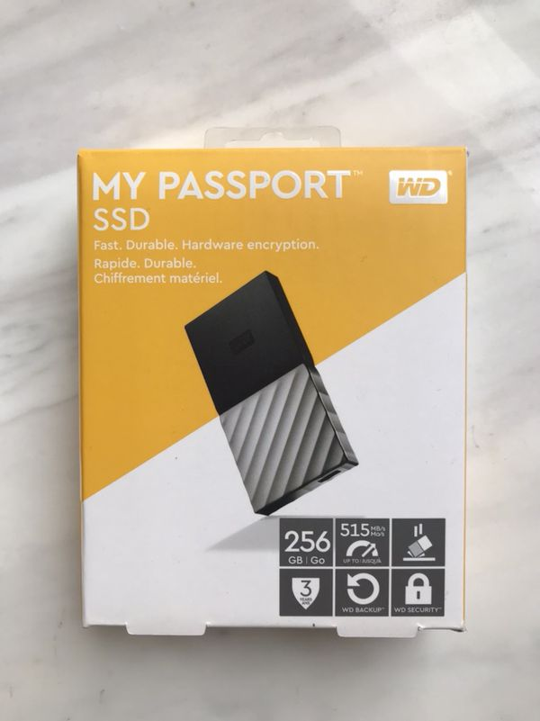 WD My Passport SSD 256 GB - brand new for Sale in Boston, MA - OfferUp